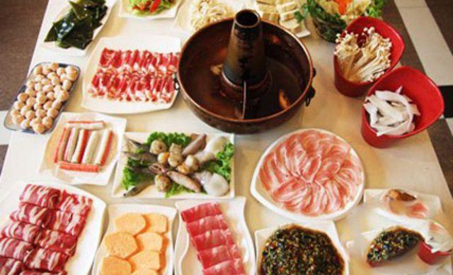 6人火锅套餐,美味火锅,欢乐共享