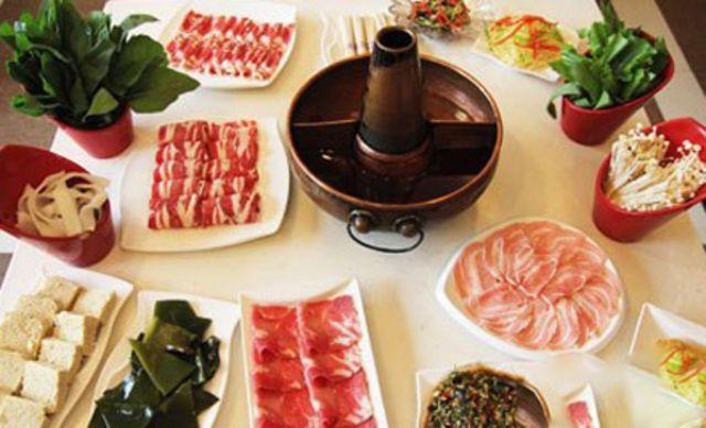 4人火锅套餐,美味火锅,欢乐共享