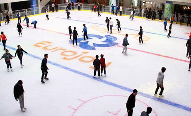 真冰滑冰1场,美好生活,快乐运动