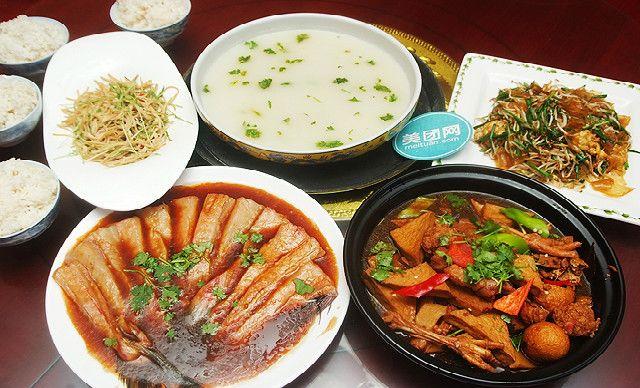 4人餐,提供免费WiFi,尽享地道的京帮菜
