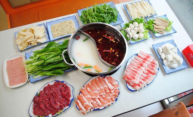 鸳鸯火锅4人餐,美滋美味,欢乐共享