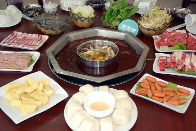 3-4人套餐,传统重庆火锅