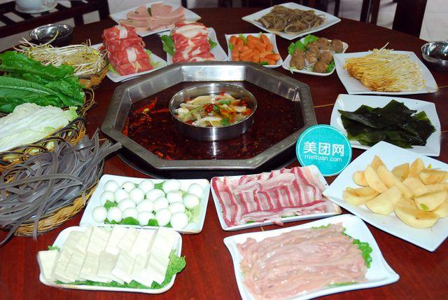 6-7人套餐传统重庆火锅