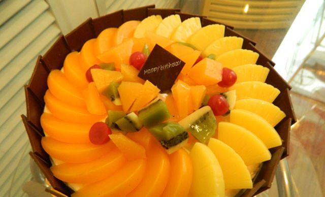 嘉华蛋糕世界8寸水果蛋糕1个.美味齐分享.   嘉华蛋糕世高清图片