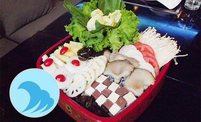越式海鲜火锅大锅5-6人餐,免费提供WiFi