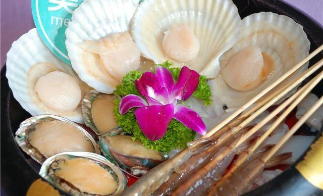 2-3人海鲜火锅套餐,提供免费WiFi