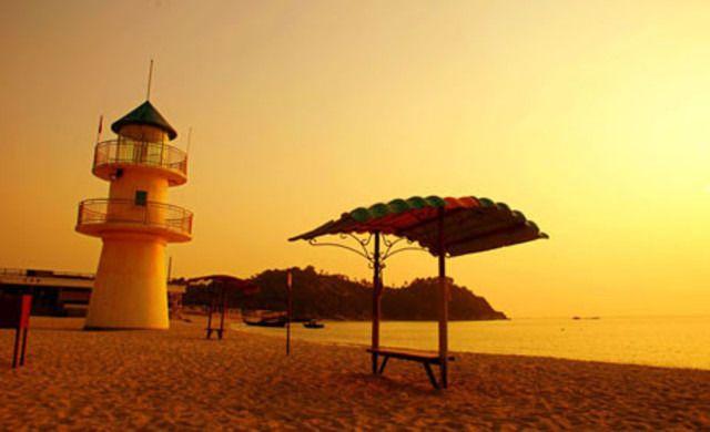 别墅园景房/主楼商务房2选1+酒店独立沙滩