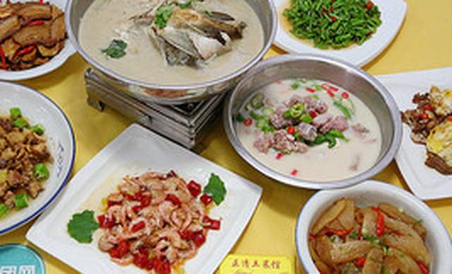 :长沙今日钱柜娱乐官网:【正清土菜馆】6-8人餐
