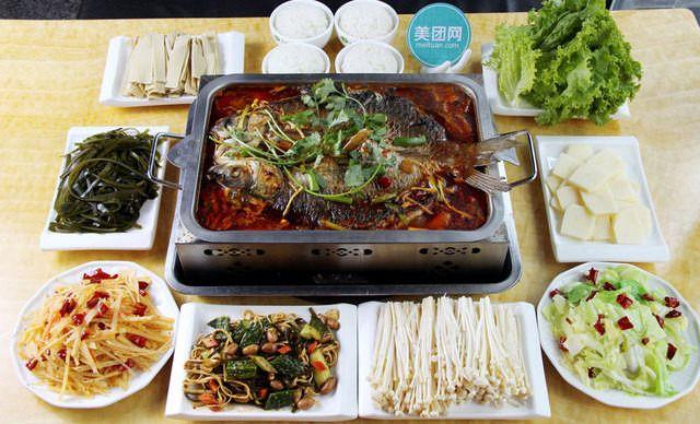 4人套餐,香嫩酥脆,吃好吃的烤鱼,就选林记