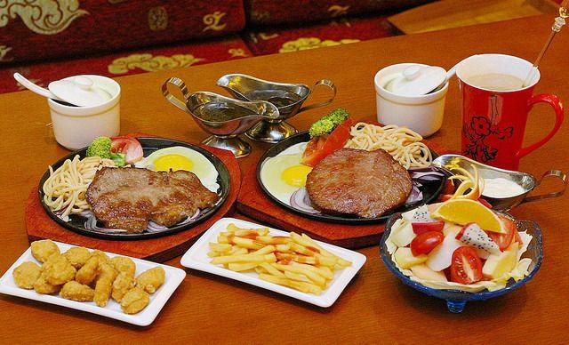 :长沙今日钱柜娱乐官网:【花之林】双人牛排浪漫套餐,提供免费WiFi