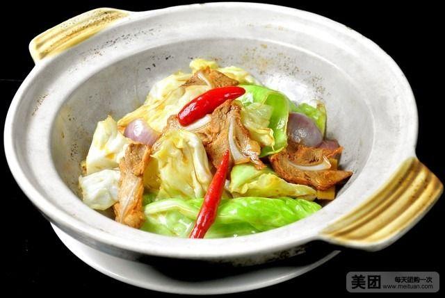 骨肉 豪华 美团 提供免费 手撕包菜 刺身 wifi/折骨肉炒手撕包菜