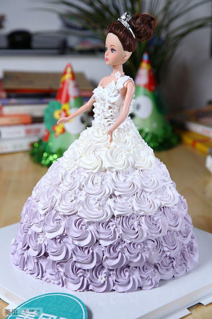 【南京多贝果团购】多贝果双层芭比娃娃蛋糕团购|图片图片