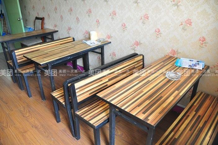雪糕条手工制作桌椅