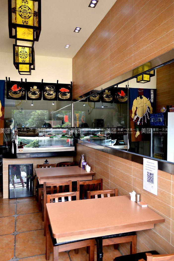 12平米   寿司   店室内效果图设计-办公商铺   装修   -猪