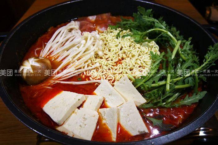 炮炮火韩国料理2人餐 美团网图片