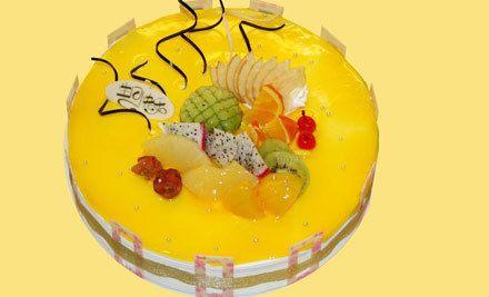 欧式水果蛋糕1个,十年老店,美味食品,优质服务