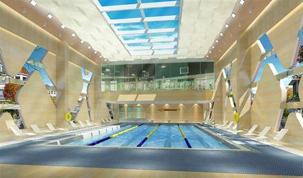 游泳+健身1次,畅享运动