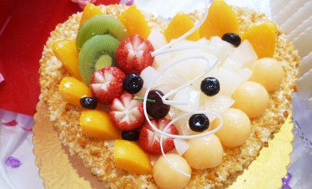 8英寸蛋糕水果巧克力3选1,爱上蛋糕好滋味