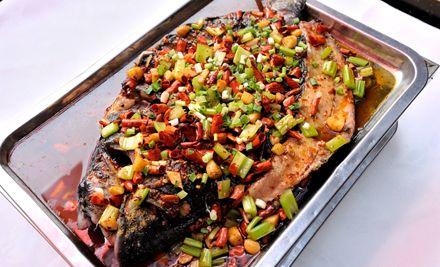 2-3人烤清江鱼套餐,品尝生活美食,会百味生活