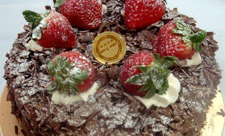 甜蜜8寸蛋糕2选1,美味齐分享