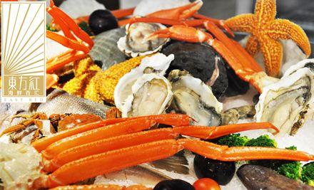 单人自助餐,午晚餐通用,有海鲜、精品菜,尽享美味滋味