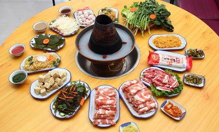 4人餐,到店加10元清水锅可升级为海鲜锅/鸳鸯锅2选1