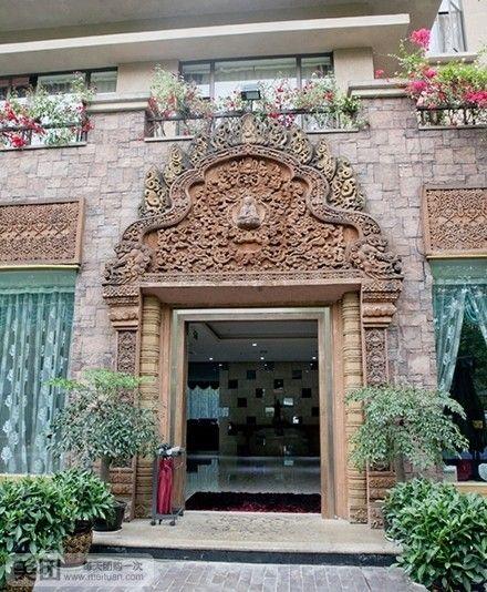 欧式古典酒楼建筑设计外立面
