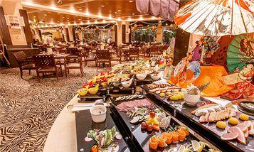 【番禺区】平日白虎自助餐厅晚餐(成人票)-美团