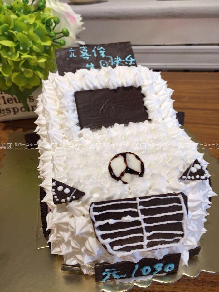 幼儿手工制作甜点汽车