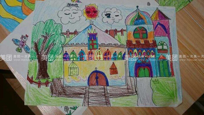 创想班:适合6到7岁有绘画基础的孩子,充分开发儿童思维,提高想象力图片