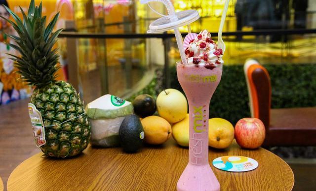:长沙今日团购:【fresh mix鲜果优】20元代金券1张,全场通用,可叠加使用2张