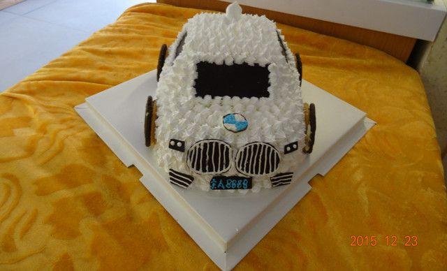 【林芝味蛋糕】卡通水果生日蛋糕小汽车1个+卡通水果