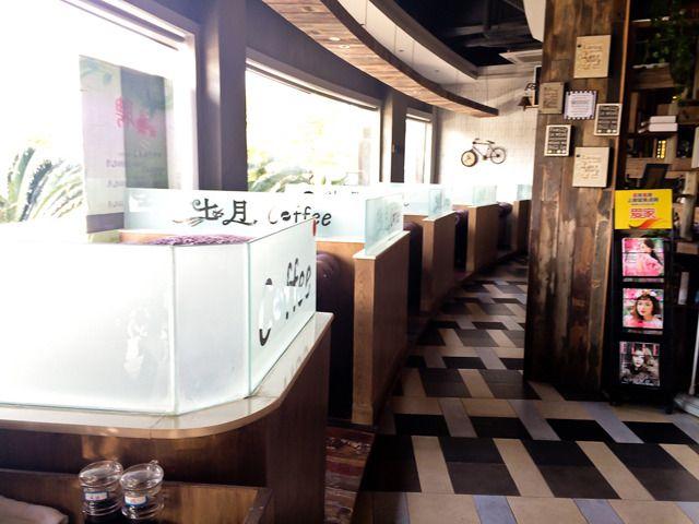 七月咖啡是,店内装修风格独特,别有异域风情,菜品丰富,种类