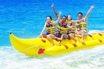 【巽寮】麦斯特水上运动中心香蕉船包船票-美团