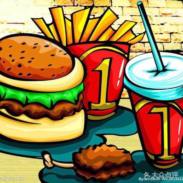 齐乐汉堡王汉堡店图片-北京小吃面食-大众点评网
