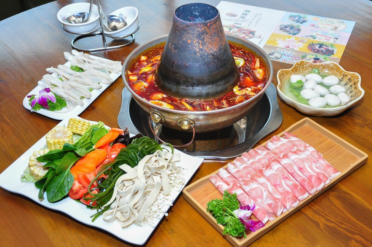 涮味浓小龙虾·老北京紫铜火锅