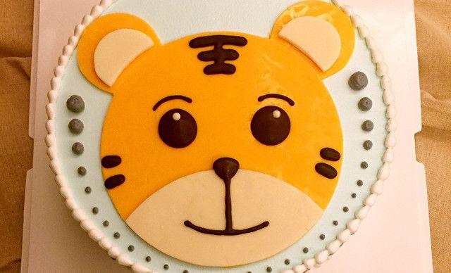 长沙小时光蛋糕【小时光蛋糕】巧虎(动物奶油蛋糕)1个