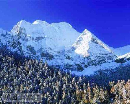 西岭雪山风景名胜区景观以原始森林为依托