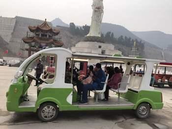 【宜阳县】灵山寺景区往返观光车门票-美团