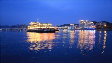 【江滨公园】千岛湖夜游18:00班次(成人票)-美团