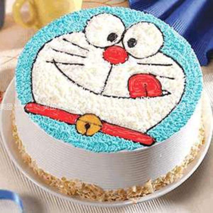 可爱叮当猫 蛋糕