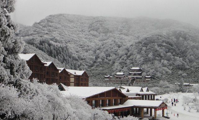 重庆【2店通用】金佛山新年祈福,天星小镇滑雪一日游