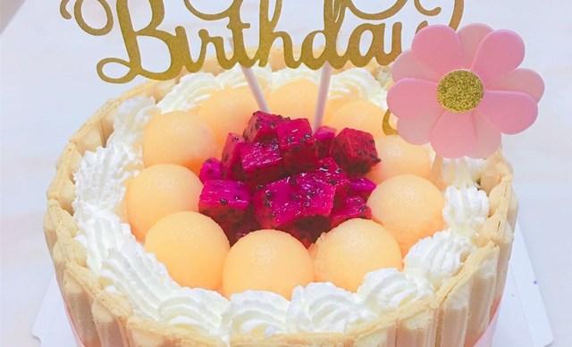 :长沙今日钱柜娱乐官网:【肆月甜品蛋糕】蛋糕2选1,约6英寸,圆形