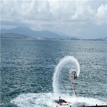 【海棠区】蜈支洲岛摩托艇成人票-美团