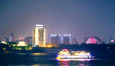 【硚口区】武汉汉江游船夜场游船成人票-美团
