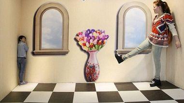 【南昌大学】南昌3D错觉艺术馆门票(双人票)-美团