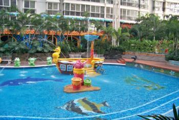 【空中花园】联邦空中花园游泳公馆套票(学生票)-美团