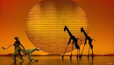 【迪士尼】迪士尼百老汇《狮子王》音乐剧 13:30场-AA区域座位票-美团