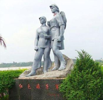 【官塘镇】红色娘子军纪念园门票(双人票)-美团