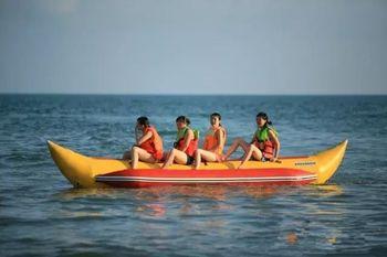 【下川岛】陆海通海上游乐城(快乐香蕉船票)成人票-美团